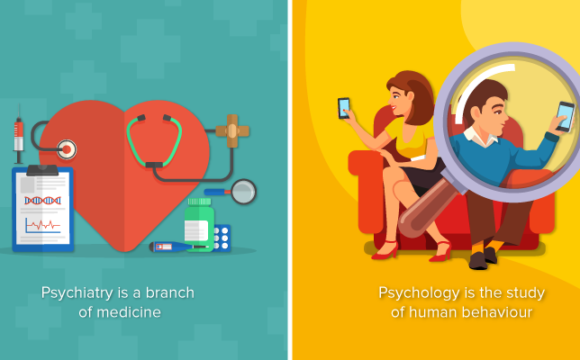 Psychiatrist versus Psychologist: What's the Difference?